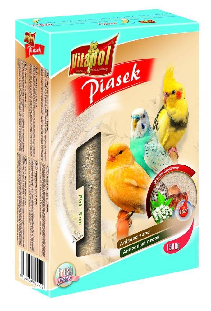 Vitapol VITAPOL piesok pre vtáky ANÍZ - 1,5kg