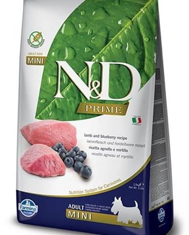 N&D dog PRIME ADULT MINI lamb/blueberry - 800g