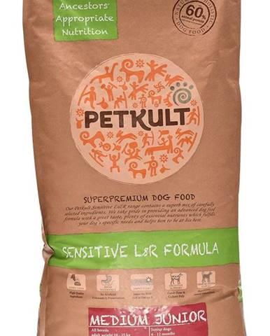 PETKULT dog  MEDIUM JUNIOR lamb/rice - 2kg