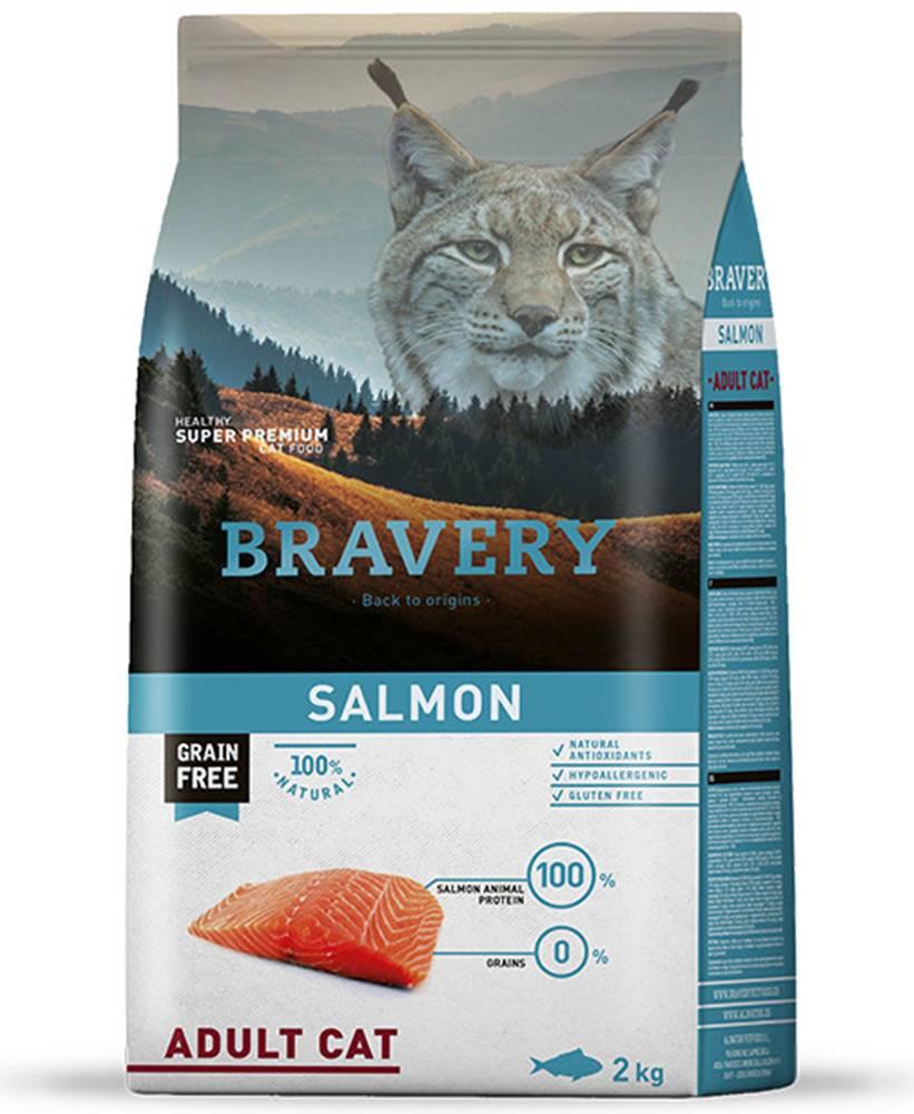 Bravery BRAVERY kočka ADULT losos - 400g