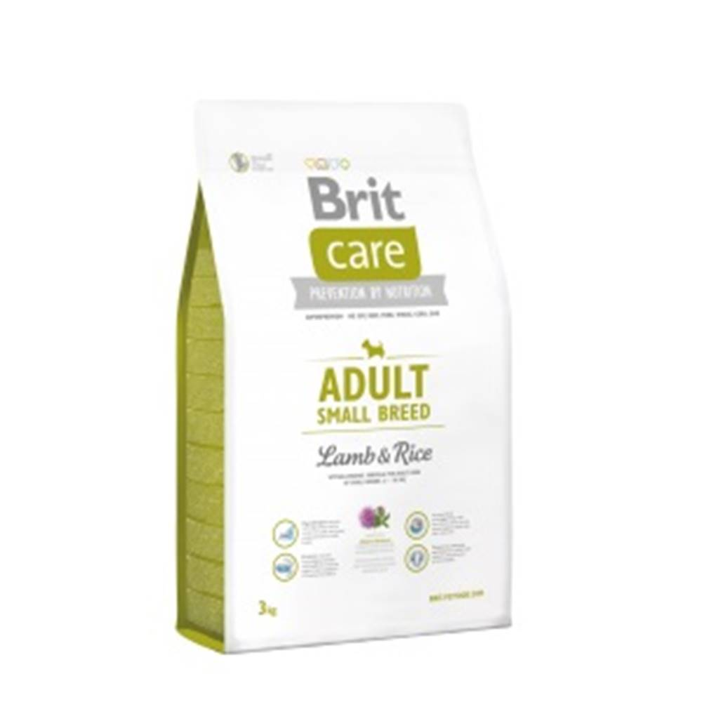 Brit Care Brit Care dog Adult Small Breed Lamb & Rice - 1kg