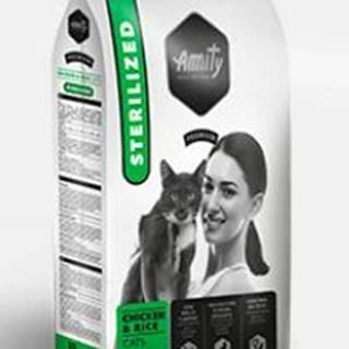 AMITY premium cat STERILISED chicken/rice - 1,5kg