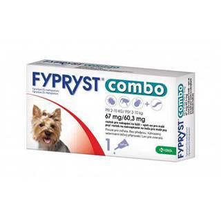 Antiparazitný spot-on FYPRYST COMBO pre psov - 2 - 10kg  - S