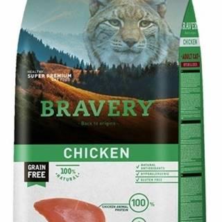 BRAVERY cat STERILIZED chicken - 400g