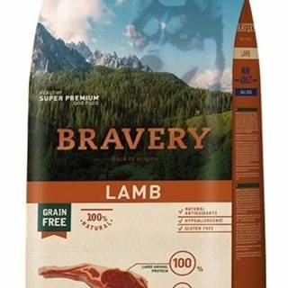 BRAVERY dog ADULT mini LAMB - 2kg