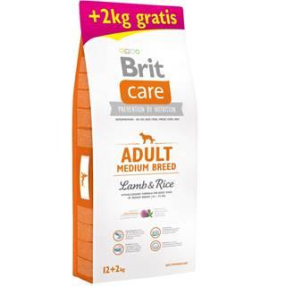 Brit Care dog Adult Medium Breed Lamb & Rice - 1kg