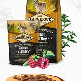 CARNILOVE ADULT large SALMON/turkey - 1,5kg