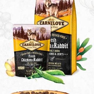 CARNILOVE dog FRESH ADULT CHICKEN/rabbit - 1,5kg