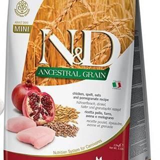 N&D dog LG ADULT MINI CHICKEN/POMEGRANATE - 800g