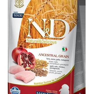 N&D dog LG PUPPY MAXI CHICKEN/POMEGRANATE - 2,5kg