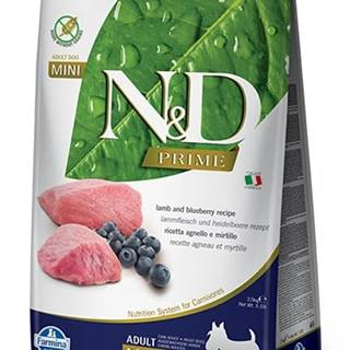 N&D dog PRIME ADULT MINI lamb/blueberry - 800g
