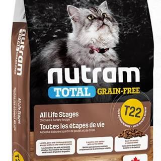 NUTRAM cat  T22 - GF CHICKEN/turkey  - 1,13kg