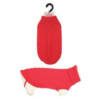 Oblečenie sveter ALLURE červený - 25cm