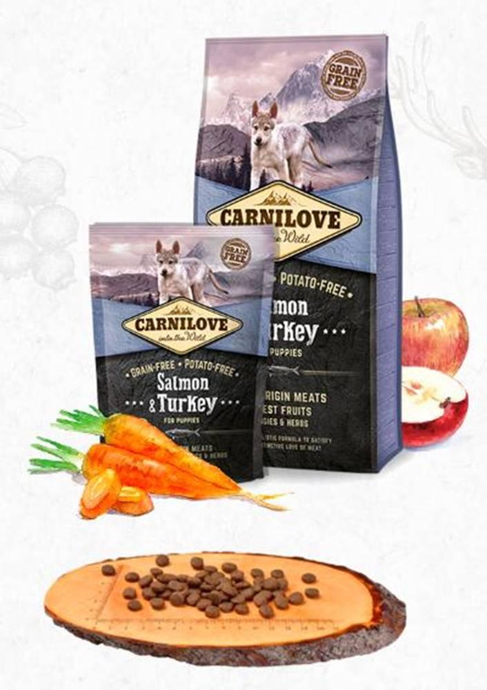 Carnilove CARNILOVE PUPPIES SALMON/turkey - 1,5kg