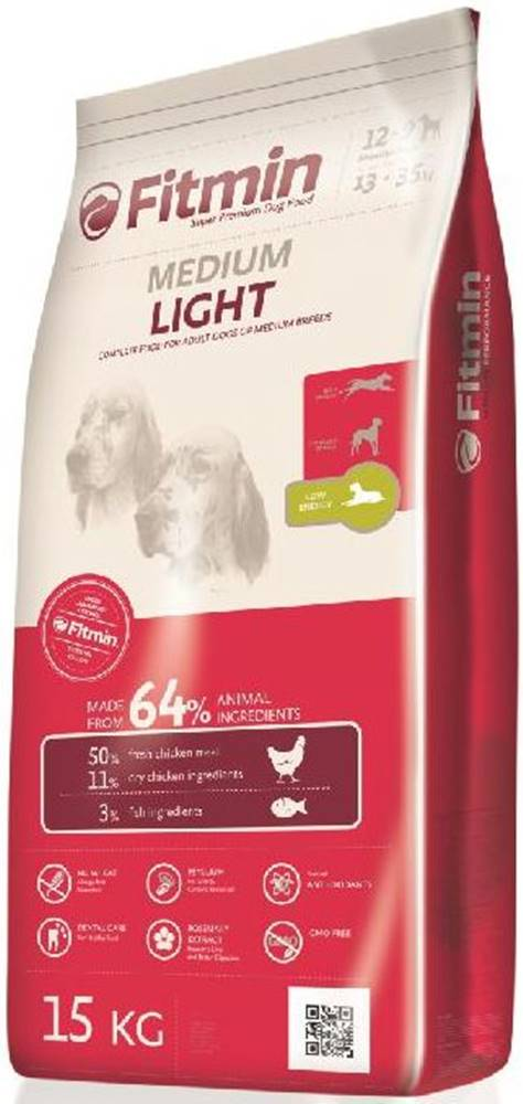 Fitmin Fitmin MEDIUM LIGHT - 15kg
