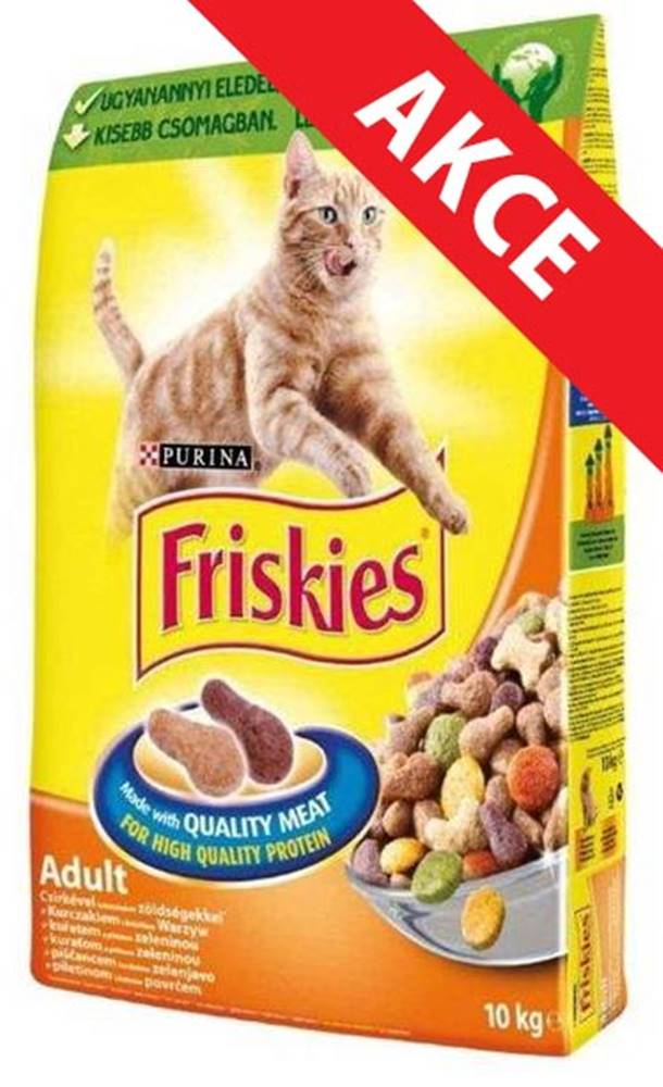 Friskies FRISKIES cat suché KURACIE - 4kg