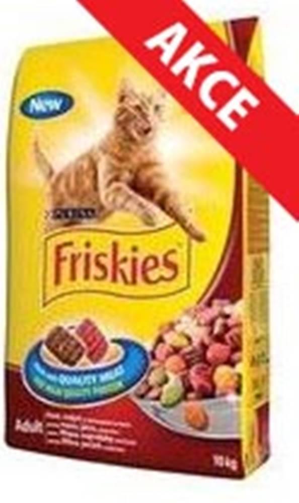 Friskies FRISKIES cat suché mäsová zmes - 10kg