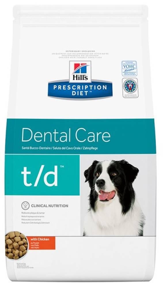 Hills Hills Canine  t/d  (dieta) - 3kg