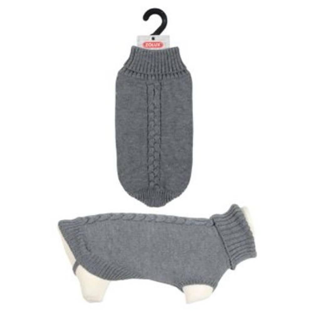 (bez zařazení) Oblek sveter ALLURE šedá - 25cm