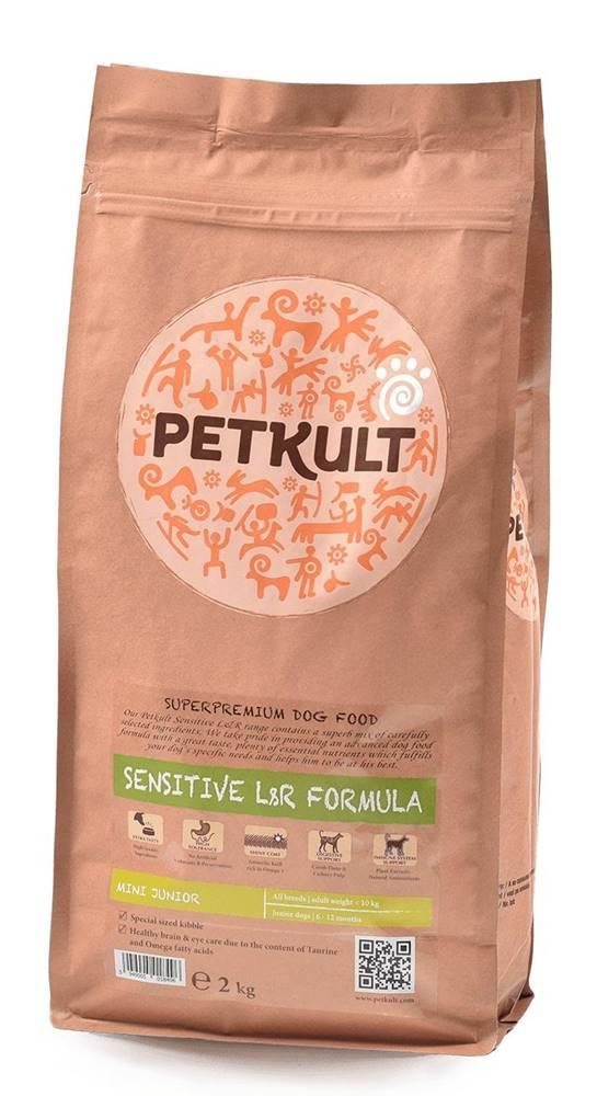Petkult PETKULT dog MINI JUNIOR lamb/rice - 2kg (Náhradný obal)