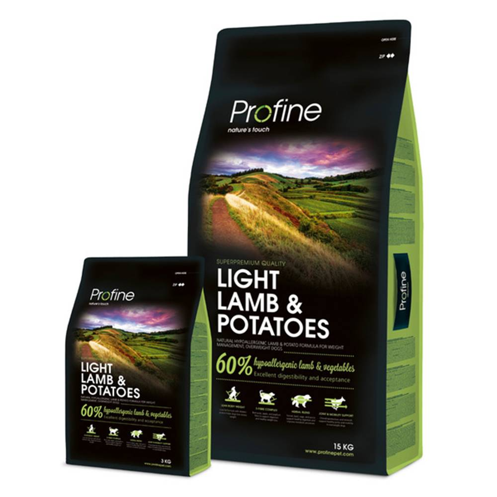 Profine Profine LIGHT LAMB/Potatoes - 15kg
