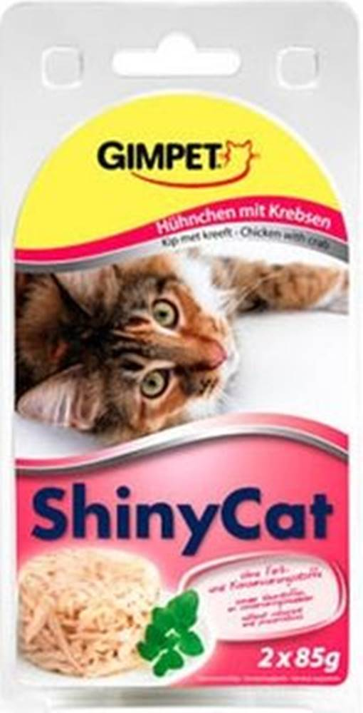 Ontario SHINY cat konz. KURČA / krab - 2x70g