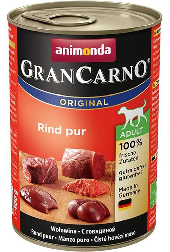 Animonda ANIMONDA dog konzerva Gran Carno čisté hovädzie - 400g