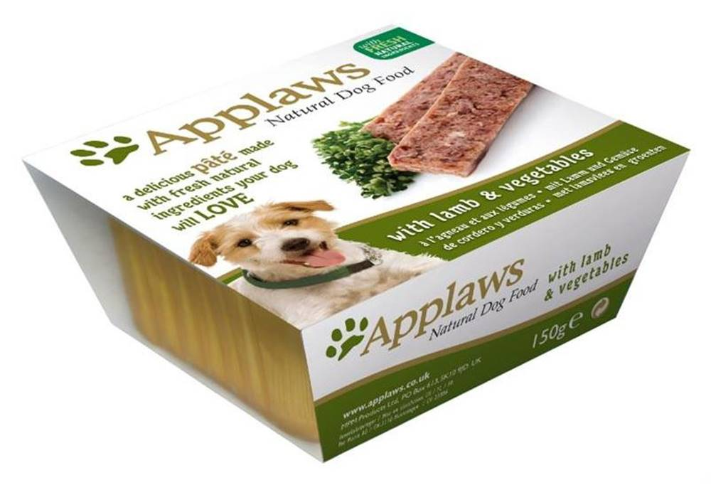 Applaws APPLAWS dog  vanička  JEHNĚČÍ/zelenina - 150g