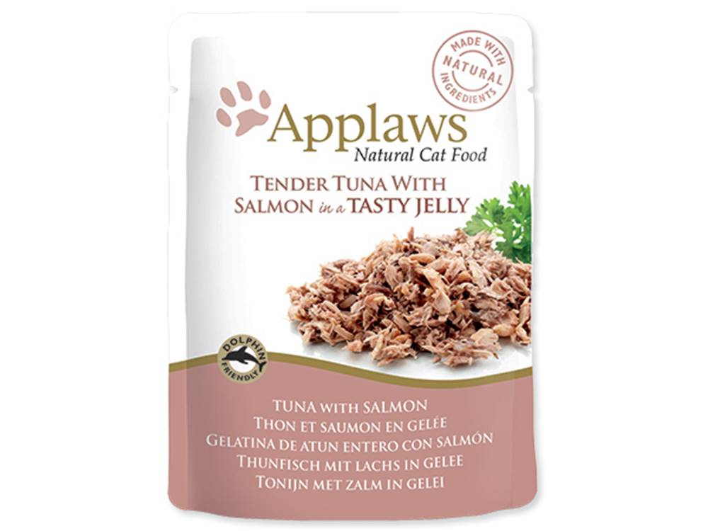 Applaws APPLAWS kapsa TUNA/SALMON v želé - 70g