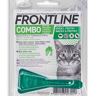 Antiparazitný spot-on FRONTLINE COMBO pre mačky - pre mačky