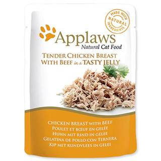 APPLAWS kapsa CHICKEN/BEEF v želé - 70g