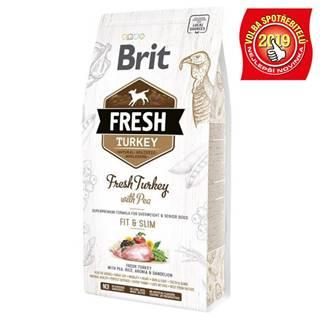 BRIT FRESH ADULT FIT and SLIM turkey/pea - 2,5kg