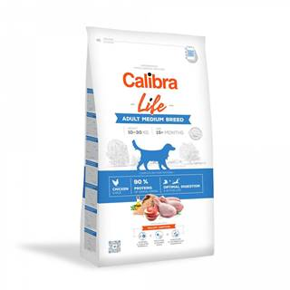 CALIBRA dog LIFE ADULT medium CHICKEN - 2,5kg