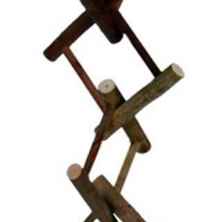 HRAČKA  vtáky rozrezaný rebrík  - 12 priečok