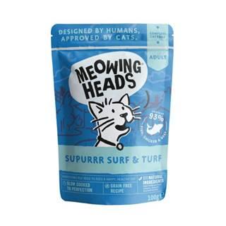 Meowing Heads  kapsa  SURF & turf - 100g