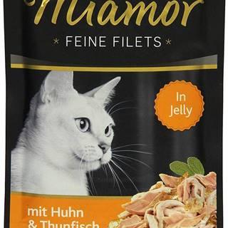 MIAMOR kapsa Feine Filets 100g - Kura/tuniak