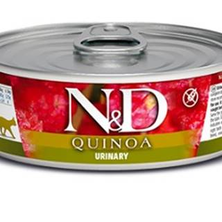N&D cat  konz.  QUINOA urinary - 12 x 80g