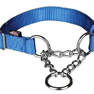 Obojok Premium polosťahovací Modrý - S-M: 1,5/30-40cm