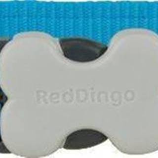 Obojok RD DAISY chain TURQUOISE - 1,2/20-32cm