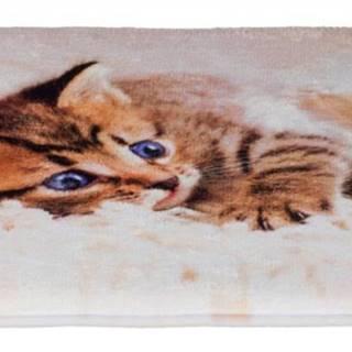 Podložka (obdĺžnik) TILLY protišmyková s mačiatkom - 50x40cm