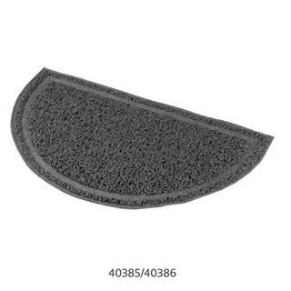 Trixie - predložka PVC k WC sivá / pologuľatá - 41 x 25 cm
