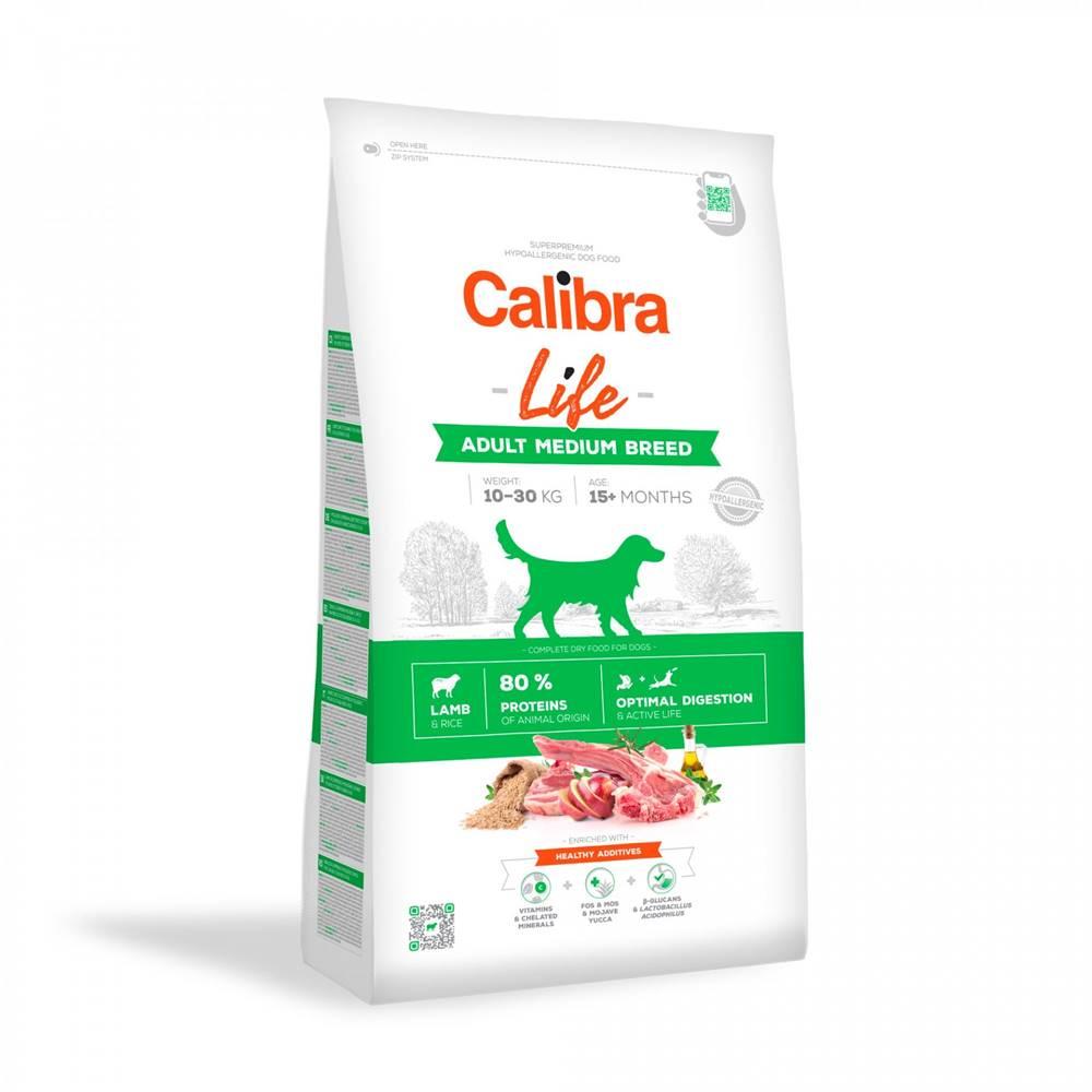 Calibra CALIBRA dog LIFE ADULT medium LAMB - 2,5kg