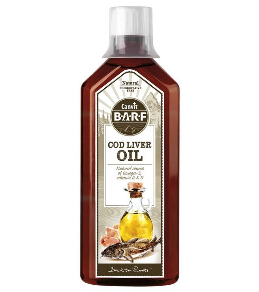 (bez zařazení) CANVIT BARF COD LIVER oil - 500ml