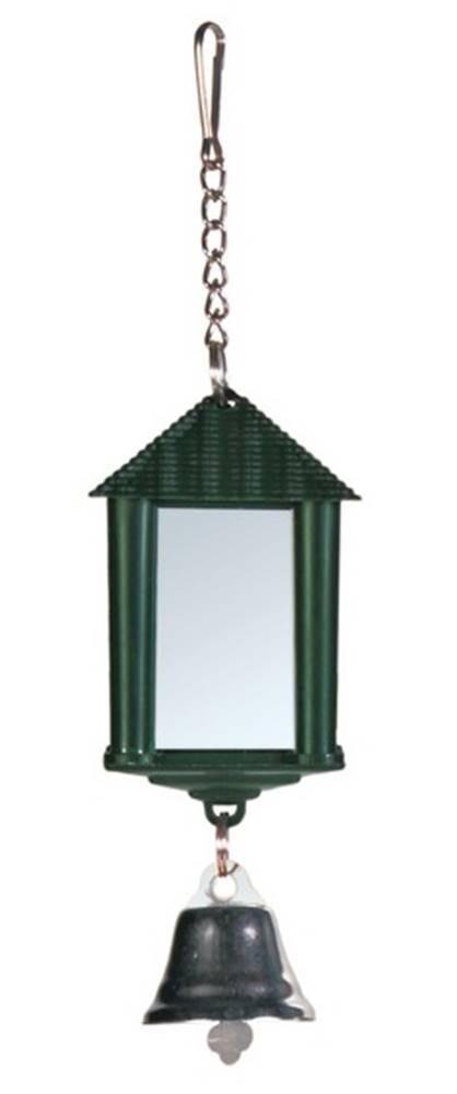 Trixie HRAČKA Zrkadlo lampáš so zvončkom - 6cm