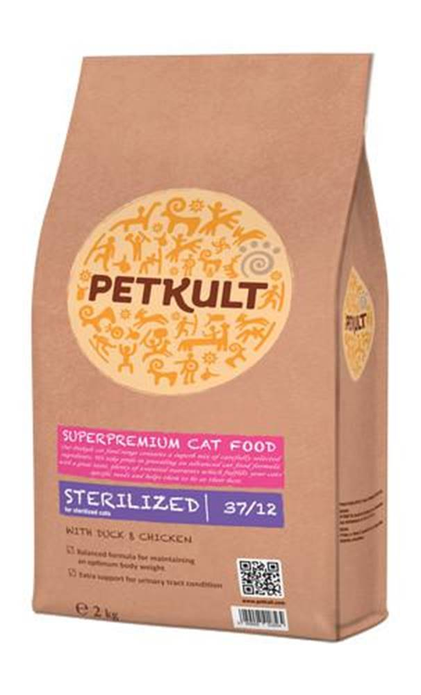 Petkult PETKULT  cat   STERILIZED - 2kg