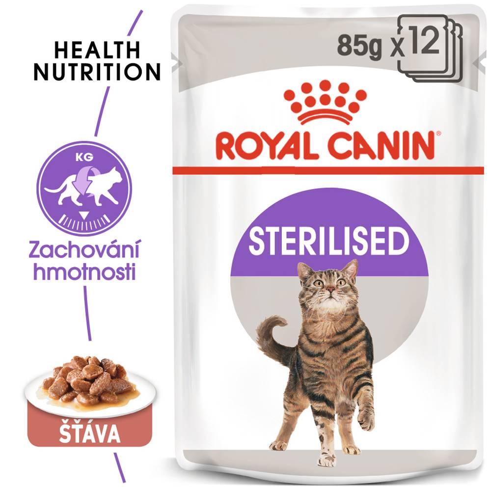 Royal Canin Royal Canin cat kapsa  STERILISED v sose - 85g