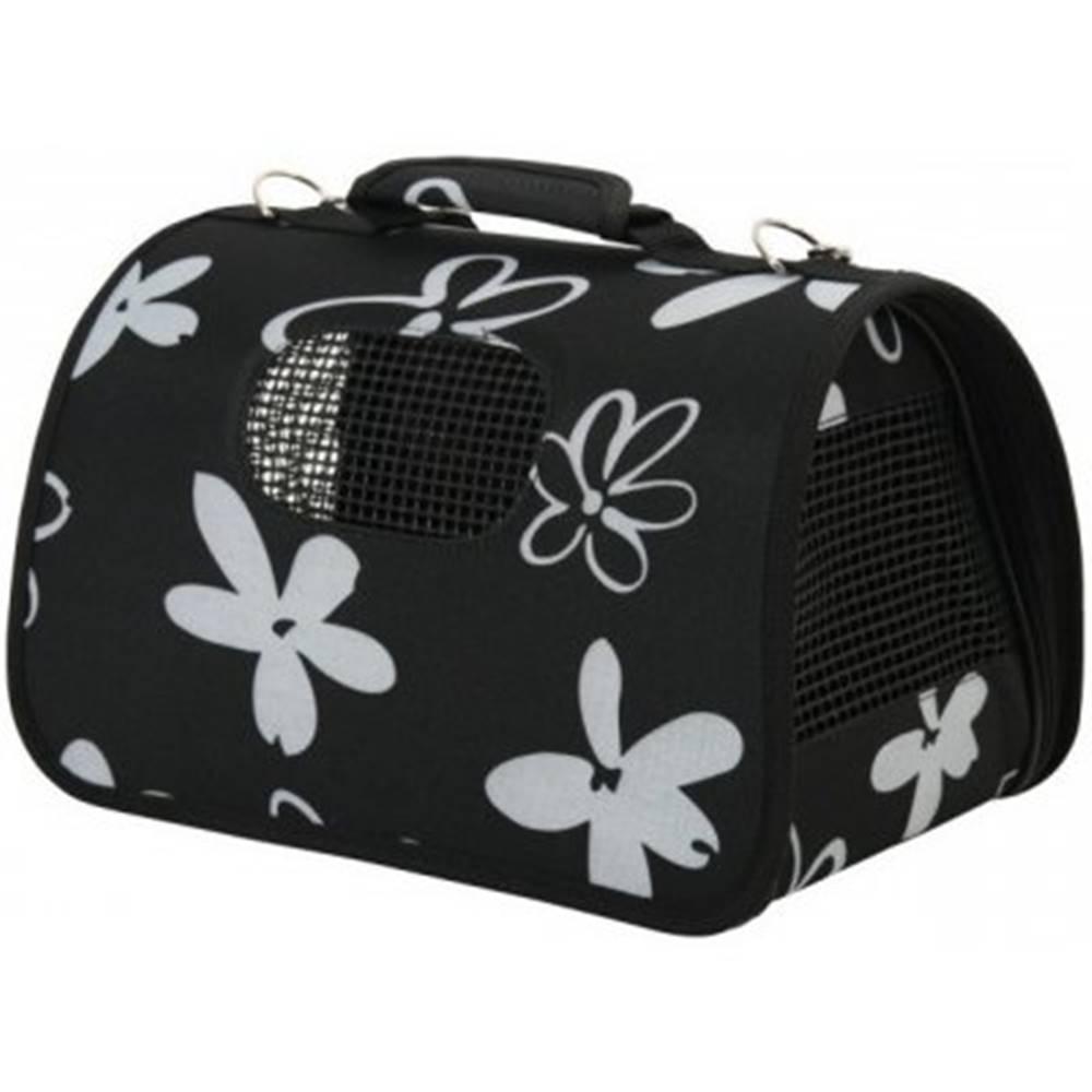 (bez zařazení) Taška cestovná Zolux FLOWER 21x36x24cm S - Čierná