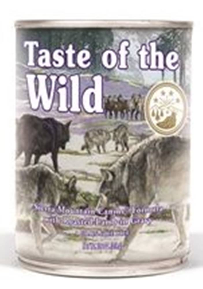 Taste of the Wild TASTE WILD sierra MOUNTAIN konz. - 390g