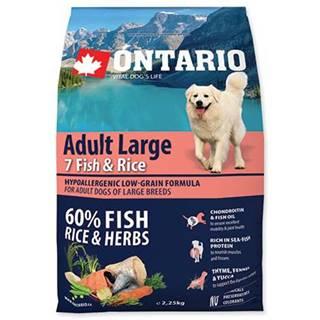 ONTARIO dog  ADULT LARGE fish - 2,25kg