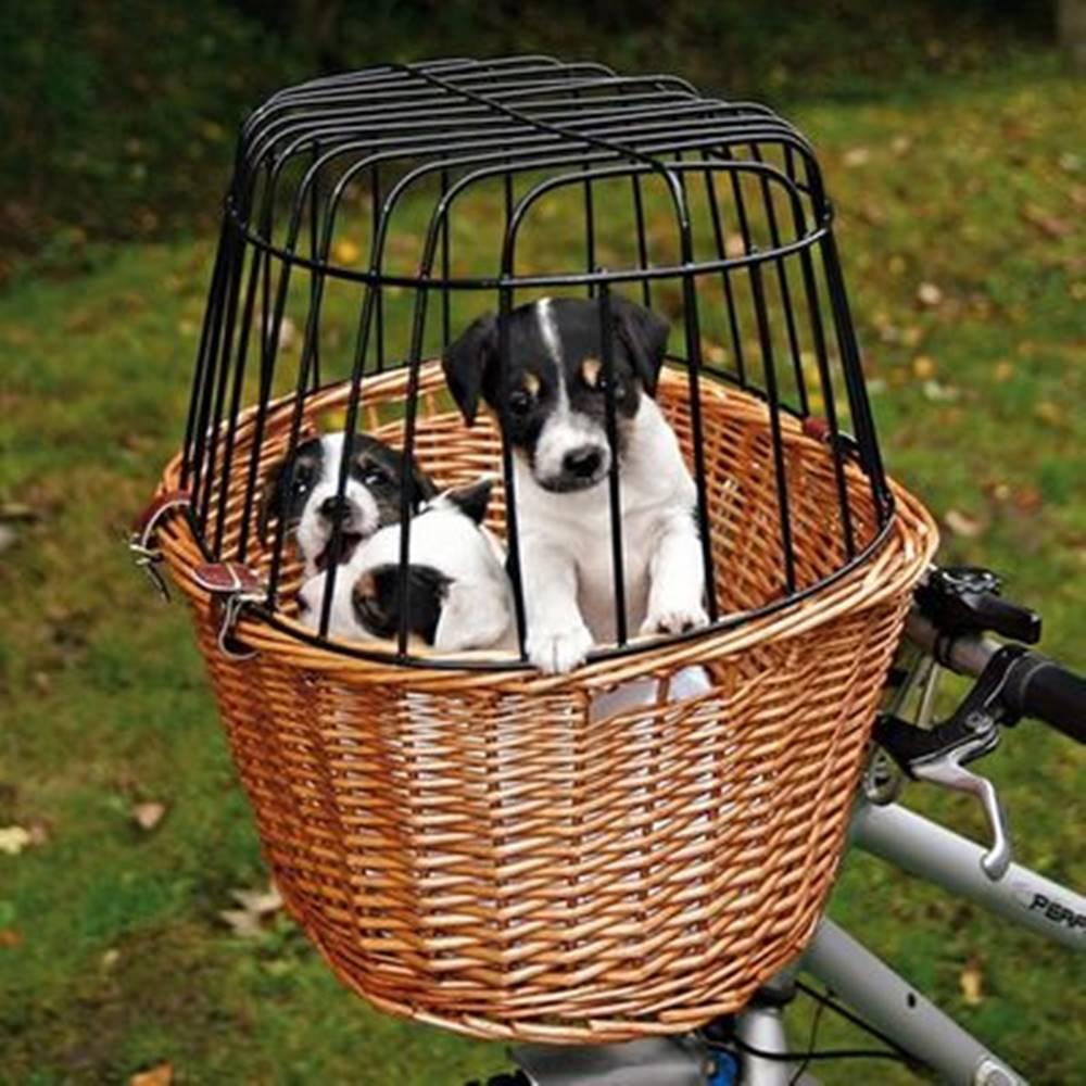 Trixie Prepravný kôš na bicykel + kabína - 44x48x33cm/8kg